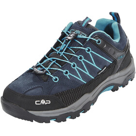 CMP Campagnolo Rigel Low WP Trekking Shoes Junior Asphalt-Cyano
